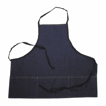 "<b>Hi-Tech Deluxe Denim 28"" Detailing Apron with Pockets</b>"