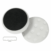 "<b>Lake Country CCS Cutback DA 3.5"" x 7/8"" White Foam Heavy Polishing Pad   </b>"