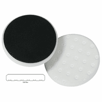 "<b>Lake Country CCS Cutback DA 5.5"" x 7/8"" White Foam Heavy Polishing Pad   </b>"