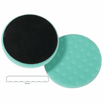 "<b>Lake Country CCS Cutback DA 6.5"" x 7/8"" Green Foam Polishing Pad </b>"