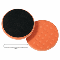 "<b> Lake Country CCS Cutback DA 6.5"" x 7/8"" Orange Foam Light Cutting Pad  </b>"