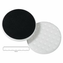 "<b>Lake Country CCS Cutback DA 6.5"" x 7/8"" White Foam Heavy Polishing Pad   </b>"