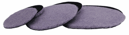 Hi Buff Purple Wool Pad Medium Pile - 6 Pack