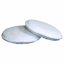 "<b>Hi-Tech Round 5"" Cotton Wax Applicator Pad 12-Pack</b>"