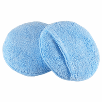 "<b>Hi-Tech Round 5.5"" Microfiber Pocket Wax Applicator 12-Pack</b>"