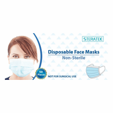 Disposable Face Masks 50 in a Box // Great Quality // Made in the USA // On Sale