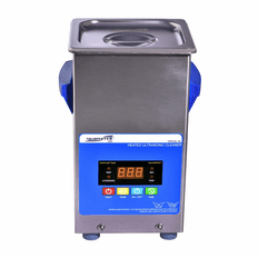 "Heated Ultrasonic Jewelry Cleaner XPS120-2.5L 6"" x 5.25"" x 6"" (L x W x H) with Sweep and Degas by Sharpertek USA."