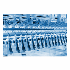 Nitrile and Latex Glove Production Plant