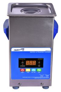 XPS120-2_5L Ultrasonic Cleaner by Sharpertek Heated with Free Basket