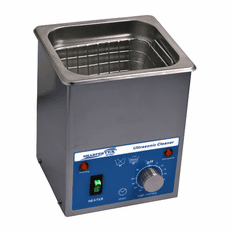 "SHARPERTEK Ultrasonic Cleaner S50-0_7L 6"" x 3.5"" x 2.5"" (Tank L x W x Depth)"