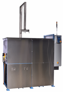 Vapor Degreaser; Two Stage Ultrasonic Vapor Degreaser Refrigeration Cooled. US-RC