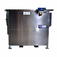 Two Stage Ultrasonic Vapor Degreaser Refrigeration Cooled 7 Gallon