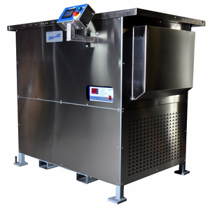 Two Stage Ultrasonic Vapor Degreaser Water Cooled. US-WC