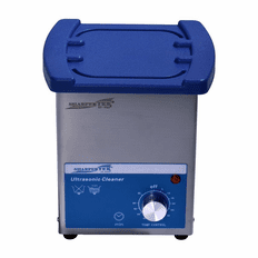 "Ultrasonic Cleaner 2L Tank Size: 6"" x 5.25"" x 4"" By Sharpertek"