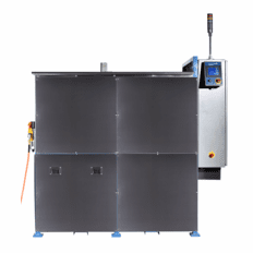 Vapor Degreaser; Two Stage Ultrasonic Vapor Degreaser Water Cooled. US-WC