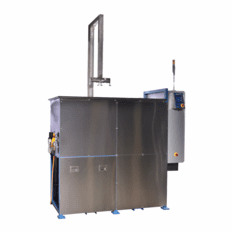 Vapor Degreaser; Two Stage Vapor Degreaser Refrigerated Primary Cooling 80 Gallon