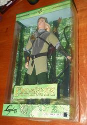 Barbie Doll Brand Lord of the Rings Fellowship of the Ring Legolas 2004 COA NRFB