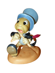 "WDCC Jiminy Cricket ""Wait for Me, Pinoke!"" Walt Disney Classics Collections SOLD"