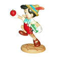 WDCC Walt Disney Classics Collection Figurine Pinocchio Good-bye Father 1996  SOLD