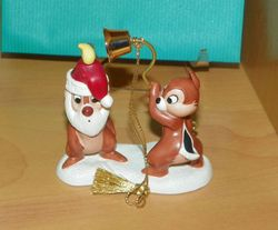 "WDCC Chip n Dale Ornament ""Little Mischief Makers"" 1997  SOLD"