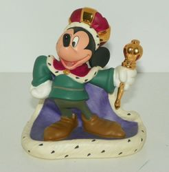 WDCC Walt Disney Classics Collection Mickey Thru The Years Long Live the King