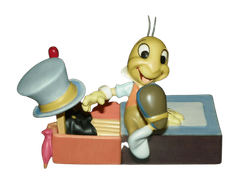 Walt Disney Classics Collection Pinocchio's Jiminy Cricket Let Your Conscience Be Your Guide