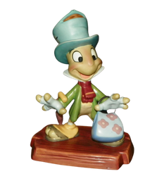 WDCC Figurine Jiminy Cricket Pinocchio I Made Myself at Home Box & COA SOLD