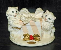 Giuseppe Armani Figurine/Sculpture Gift For Two Presents Cats 1438F