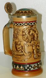 "1988 Avon Products ""Indians of the American Frontier Stein"" Collectible #144827"
