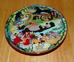 Disney Musical Memories Collector Plate 1997 The Jungle Book Out of Stock