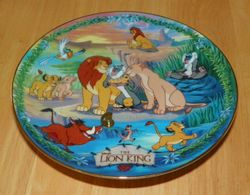 Disney Musical Memories Collector Plate Future King of Pride Rock