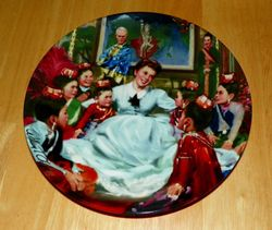 1985 Collector Plate The King and I Classic Movie Series Getting to Know You