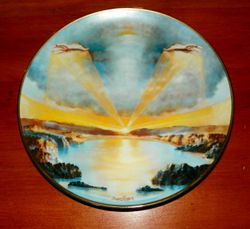 1978 Vintage Collector Plate The Creation Series In The Beginning Plate 1