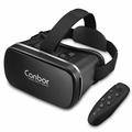 Canbor VR Headset VR Goggles 3D VR Glasses Virtual Reality Headset VR-1001 Black