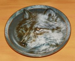 Collector Plate Entrancing Glance Mystic Spirit Collection Wolves Wolf Out of Stock