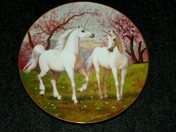 Collector Plate Princeton Gallery The Springtime Pasture of the Unicorn Out of Stock