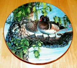 Collector Plate The Family Tree A Loving Look Duck Families Series 1991 COA