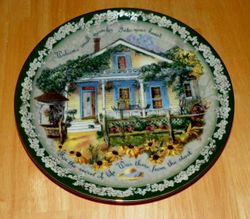 Collector Plate Welcome Small Miracles Welcome Home Collection Bradford Exchange Out of Stock