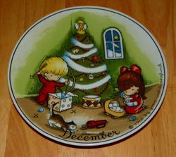 West Germany Dekor-Shop Collector Plates