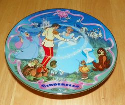 Disney Musical Memories Collector Plate 1995 Cinderella's Wish Come True