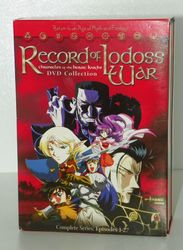 Record of Lodoss War: Chronicles of the Heroic Knight Boxed Set (2000, 4-Disc)