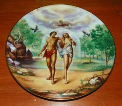 1978 Vintage Collector Plate The Creation Series Banished from Eden