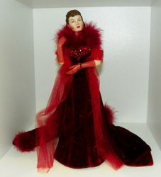 Gone With The Wind Radiant in Rubies Scarlett Figurine