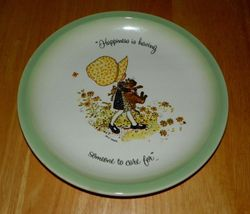 1972 Vintage Collector Plate Holly Hobbie Collector's Edition Someone to Care SOLD
