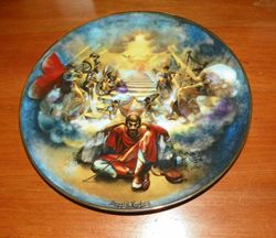 1978 Vintage Collector Plate The Creation Series Jacob's Ladder