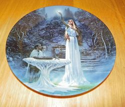 Collector Plate Danbury Mint Lord of the Rings The Mirror of Galadriel