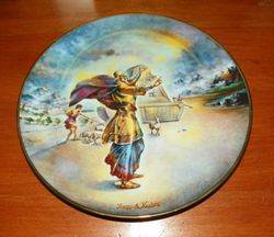 1978 Vintage Collector Plate The Creation Series Noah and the Ark