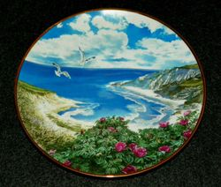 Vintage Collector Plate Cape Cod Sea To Shining Sea Collection