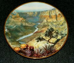 Vintage Collector Plate Grand Canyon Sea To Shining Sea Collection Out of Stock