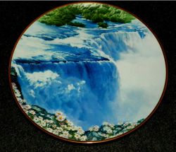 Vintage Collector Plate Niagara Falls Sea To Shining Sea Collection Out of Stock